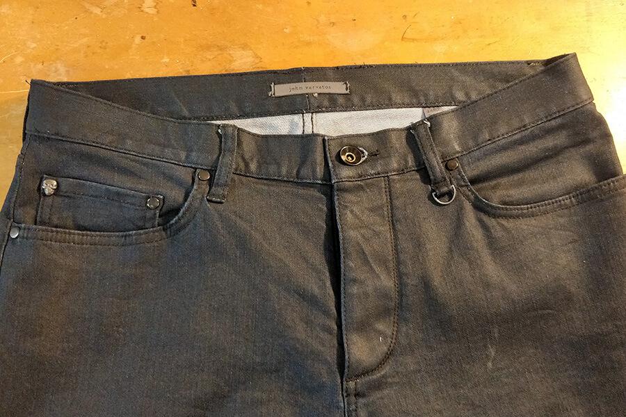 jeans taken in