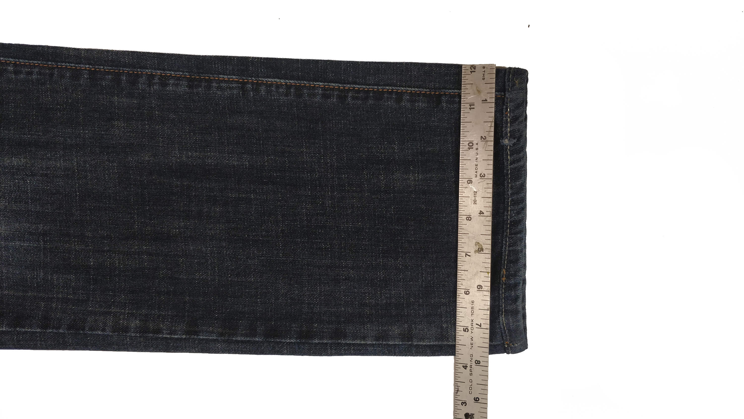 how to measure jeans bottom width